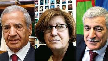 <b>Miloud Brahimi</b>, Nacéra Dutour et Ferhat Mahenni. © JA - 024062010120354000000trublion