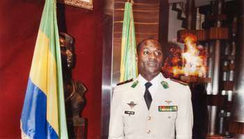 Le général Ntumpa Lebani, au palais présidentiel en 2009.