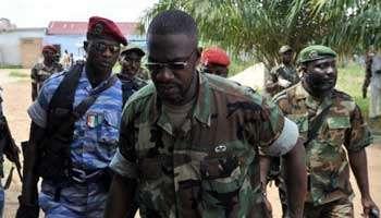Ibrahim Coulibaly, dit général IB , le 19 avril 2011 à Abidjan.