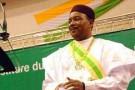 Le président nigérien Mahamadou Issoufou lors de sa cérémonie d'investiture, au mois d'avril.