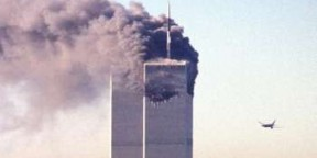 Les Twin Towers le 11 septembre 2011.