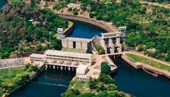La centrale de Lagdo, réalisée par CWE, à qui le chantier de Lom Pangar a été confié.