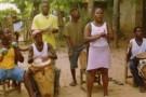 Groupe de musique de l'espace culturel de Palenque de San Basilio.