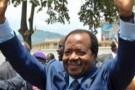 Paul Biya, le jour du vote à Yaoundé, le 9 octobre 2011.