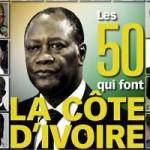 Les 50 qui font la Côte d'Ivoire