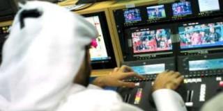 Dans la régie d'Al-Jazira Sport.