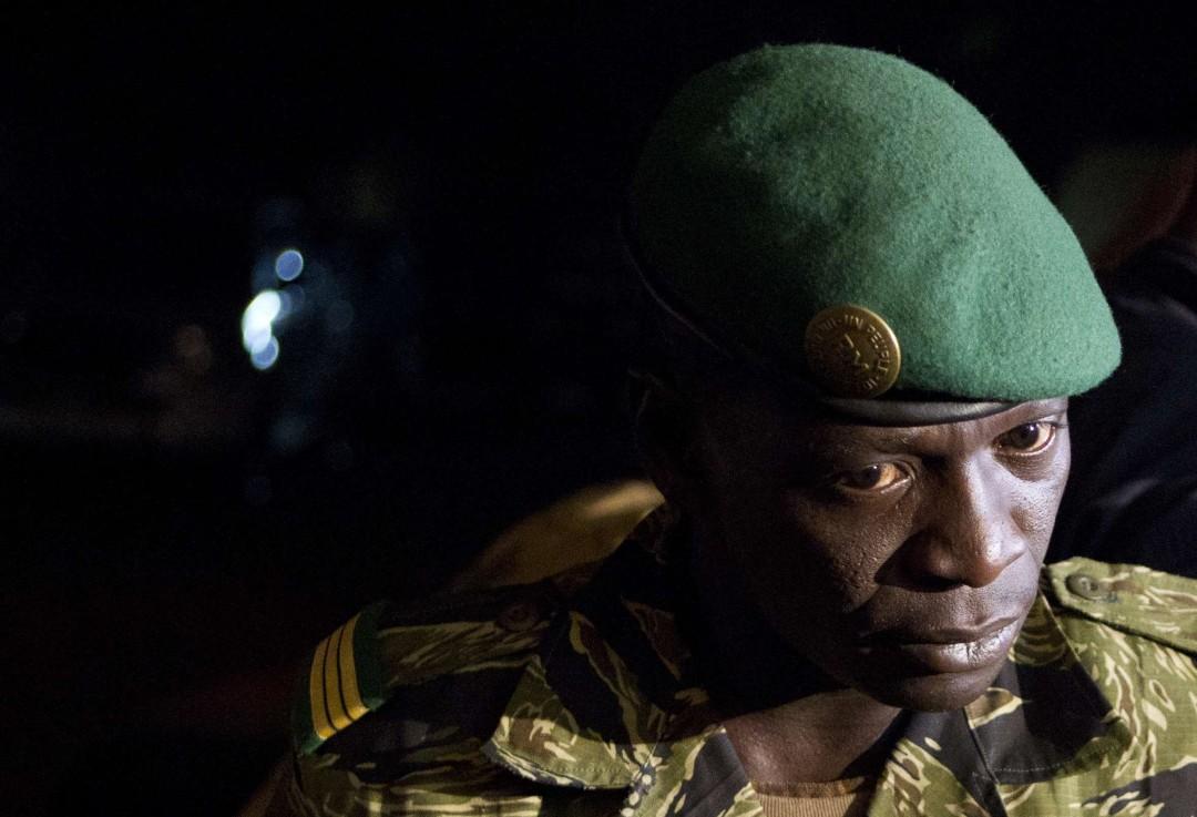 Amadou Haya Sanogo, le 31 mars 2012 à Bamako.