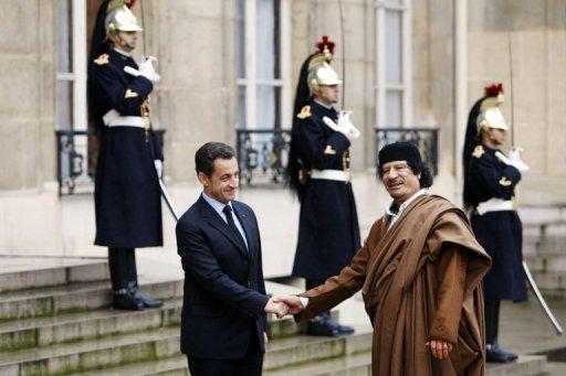 L'ex-Premier ministre libyen affirme que Kadhafi a financé la campagne 2007 de Sarkozy