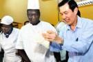 Le leader taïwanais Ma Ying-Jeou, au Burkina Faso, le 9 avril.
