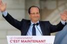 François Hollande, le nouveau président de la république française.