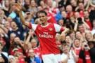 Marouane Chamakh, l'un des joueurs africains d'Arsenal.