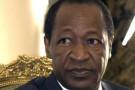 Blaise Compaoré le 28 septembre 2012 à Ouagadougou.