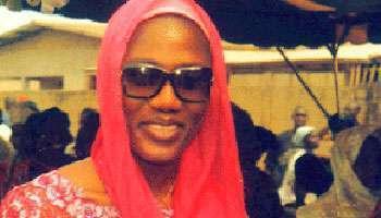 Nady Bamba, la seconde épouse de Laurent Gbagbo.