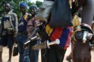 Un rebelle centrafricain dans le nord du pays, le 13 juillet 2007.