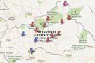 La rébellion Séléka est désormais présente sur une bonne moitié nord-est de la Centrafrique.