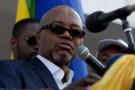 L'opposant gabonais André Mba Obame, le 25 août 2012 à Libreville.