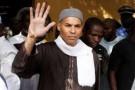 Karim Wade lors de son arrestation, le 15 avril 2013 à Dakar.
