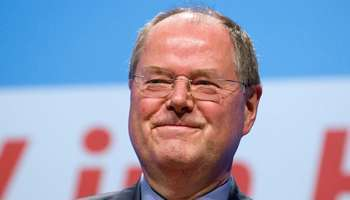 <b>Peer Steinbrück</b>, candidat du SPD. © AFP - 030042013155137000000steinafp