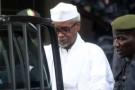 Lors de l'arrestation d'Hissène Habré, à Dakar, où il est en exil depuis 1990.