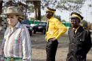George Forrest (à gauche), surnommé le vice-roi du Katanga, ici à Lubumbashi, le 24 octobre 2010.