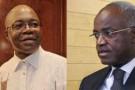 André Mba Obame et Jean Eyéghé Ndong.