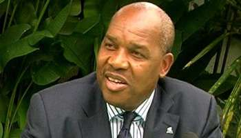 François Mwamba, coordonnateur du Mécanisme de la RDC de suivi de l'accord-cadre.