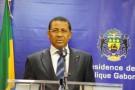 Le nouveau Premier ministre gabonais, Daniel Ona Ondo, à Libreville, le 24 janvier.