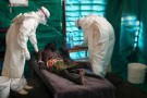 Lors d'une précédente épidémie à Kampungu (Congo) en 2007.