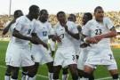 Les Black Stars du Ghana, l'équipe africaine qui s'est le plus approchée des demi-finales.