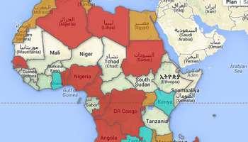 Carte De Lafrique Interactive.Carte Interactive L Afrique Est Elle Un Continent Egoiste