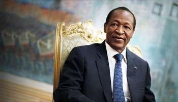 Blaise Compaoré à Ouagadougou, le 23 janvier 2013.