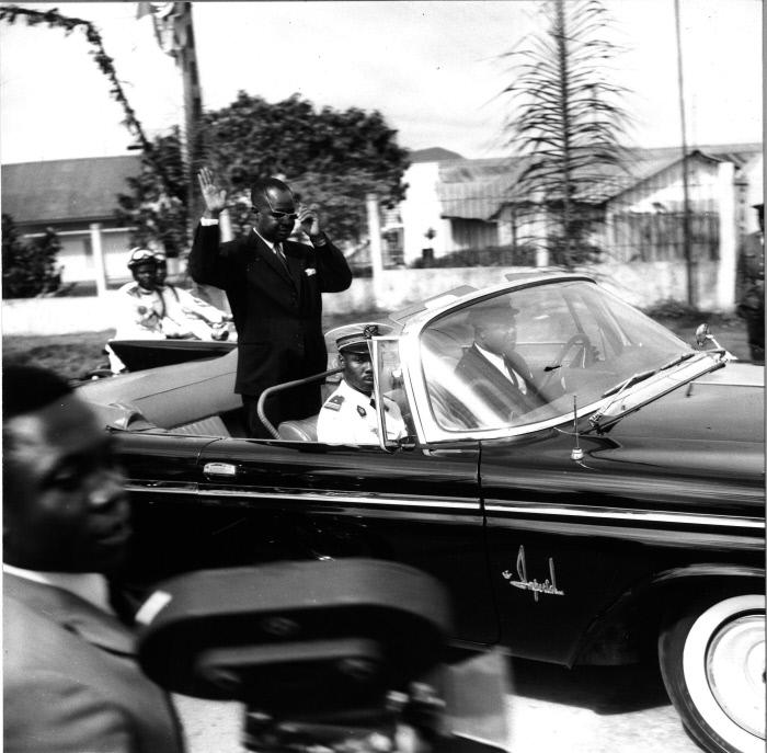 Ahmadou Ahidjo,premier président du Cameroun (Archives).