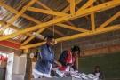 La Commission électorale indépendante (IEC) au Lesotho, le 1er mars 2015 à Maseru.