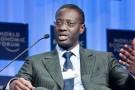Tidjane Thiam est né en 1962 en Côte d'Ivoire.