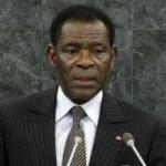Le président Obiang Nguema.