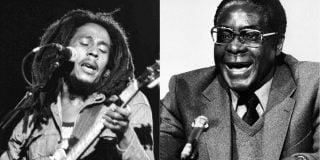 Bob Marley et Robert Mugabe.