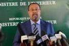 Le ministre gabonais de l'Intérieur, Guy-Bertrand Mapangou.