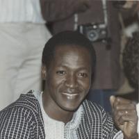 Blaise Compaoré, en 1987.
