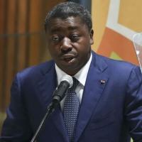 Le président du Togo, Faure Gnassingbé, au siège de l'ONU en 2014.