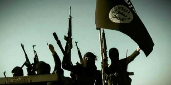 Un commando de l'État islamique.