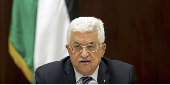 Le président palestinien Mahmoud Abbas.