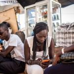 Usagers de smartphones au Sénégal