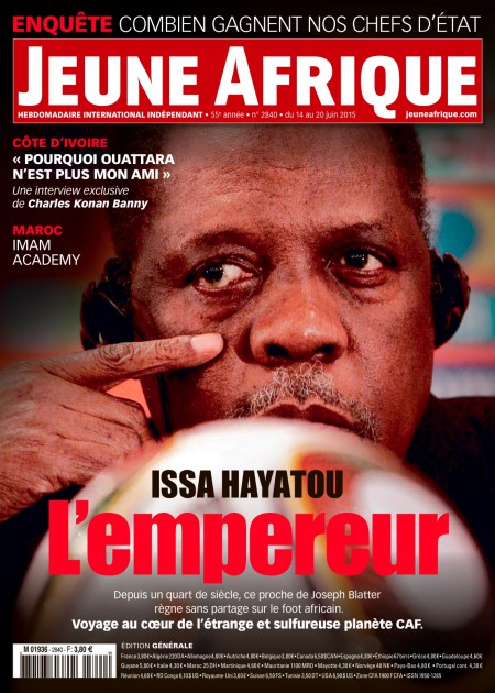 Jeune Afrique n°2840, du 14 au 20 juin 2015.