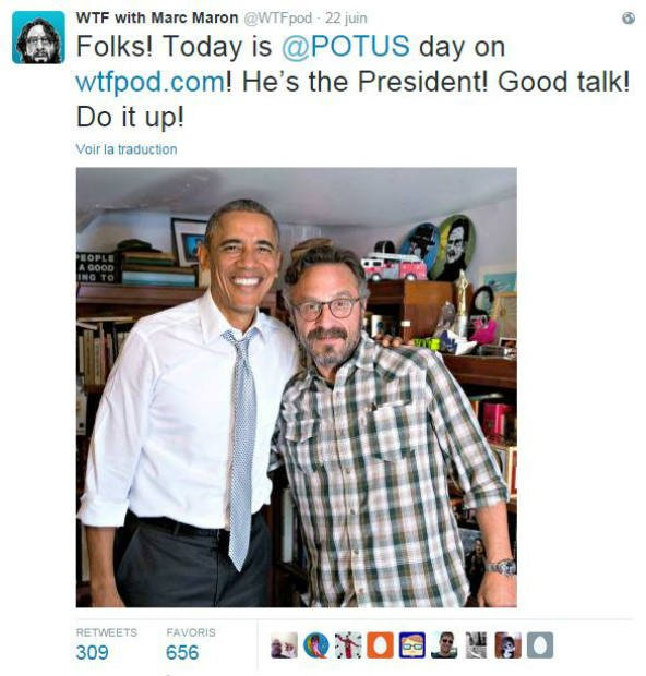 WTF with Marc Maron/Twitter