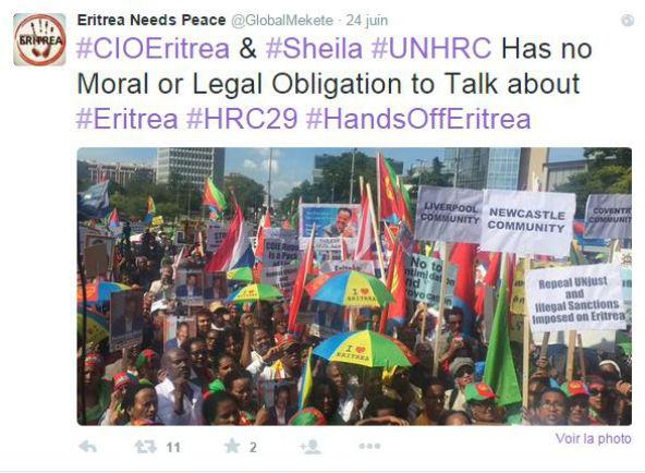 Eritrea needs peace/Twitter