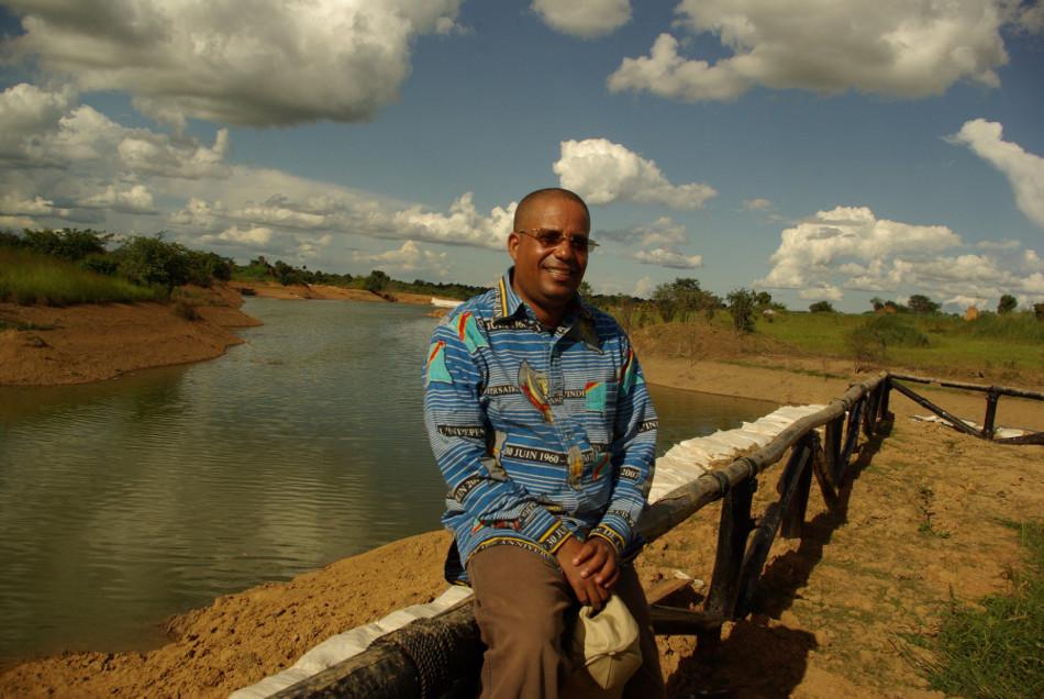 Jean-Claude Muyambo, l'ancien bâtonnier du barreau de Lubumbashi et opposant à Joseph Kabila