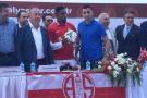 Samuel Eto'o, présenté par le club d'Antalyaspor, le 7 juillet.