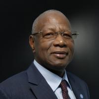 Abdoulaye Bathily, le 16 décembre 2014, à Paris