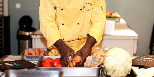 repas afrique noire