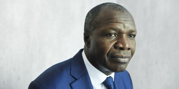 Albert Mabri Toikeusse, à Paris, en juillet 2015.